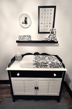 #Black and #White #Baby #Nursery #baby #boy#baby #girl  #http://www.acebabyfurniture.com/