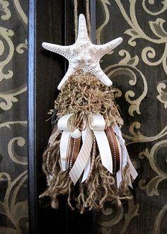 Seashell tassel....