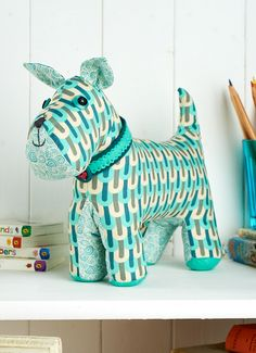 Malcolm the plush puppy is our make and sell project this June issue, which is out this Friday!