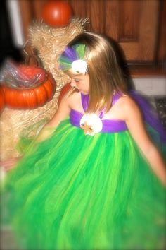 Little Mermaid Inspired Tutu Dress Costume