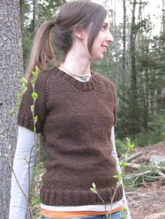 Top Down Spring Sweater