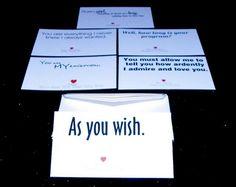 Mini Movie Quote Love Cards
