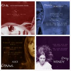 mary poppins, little red, red riding hood, companion, doctorwho