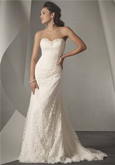 Lace Wedding Gown Alfred Angelo