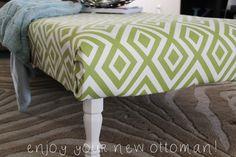 DIY: Pallet Ottoman