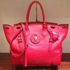 The new Soft Ricky bag by Ralph Lauren #VFNO (à Ralph Lauren)