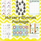 Nursery Rhymes Literacy and Numeracy Package for Pre-K, K, Pre Primary :: Teacher Down Under
