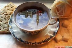 Big Bend Reflection in a Cup of London Tea