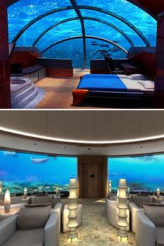 Poseidon Undersea Resort in Fiji.  I HAVE TO GO HERE!!! HONEY MOON????