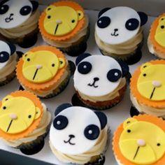 Animal Cupcakes
