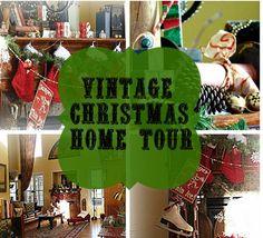Christmas home tour.