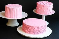 Cake Decorating Ideas {Valentines Day Edition}    THE BEST BUTTERCREAM  2 cups shortening  8 cups confectioner's sugar  1/2 teaspoon salt  1 tablespoon clear imitation vanilla extract  6 fluid ounces heavy cream