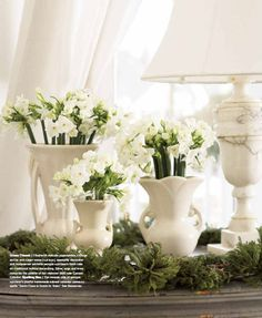 once they are in full bloom - fun to cut and place in white pitchers or vases