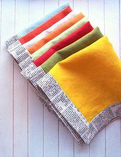Easy Cloth Napkins Tutorial