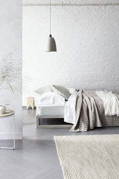 grey bedrooms, bed frames, grey and beige bedroom, bedroom styling, bedroom minimal, white bedrooms, interior design bedroom white, white bedding, bedroom style