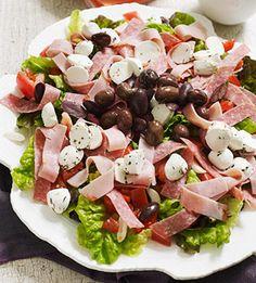 Italian Tomato & Antipasti Salad