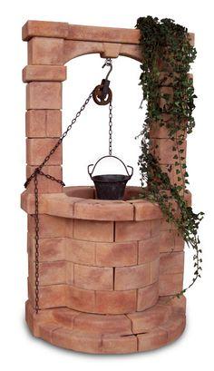 Pozzi decorativi on pinterest stones for Pozzo da giardino decorativo