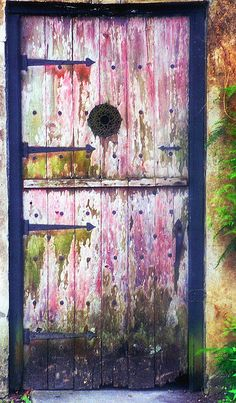 Many have passed thru this door.