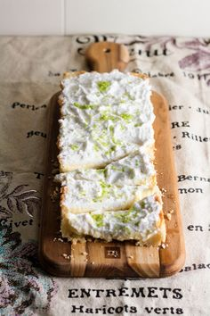 Lime and Coconut Cream Tart ★