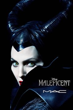 MAC introduces their new limited-edition Maleficent makeup collection.