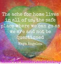 Home quote via Alice in Wonderland's Teatray at www.Facebook.com/WonderlandsTeatray