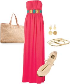 Vacation, created by jennabarclay on Polyvore