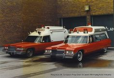 Private ambulances of the 1960's 70's and 80's which covered the City of Winnipeg & rural Manitoba Canada areas . These vehicles were each custom built and were the pride of their crews - collection courtesy Mr. K. Burdyny Rivercrest Ambulance Service manitoba canada, rural manitoba, ambul servic, emerg vehicl, vintag emerg, vintag ambul, emerg 51