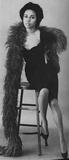 diahann carroll. American television's first African American mega star with her own top rated show.     Repinned from Vintage Black Glamour