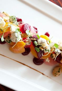 Many of the fresh, seasonal ingredients used by chef Alex Seidel at Denver restaurant Fruition are grown on his own farm.