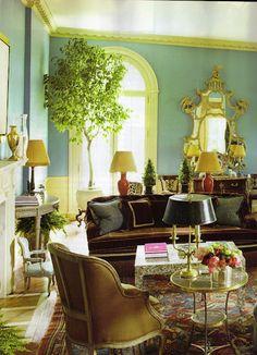 Living Room Design by Miles Redd
