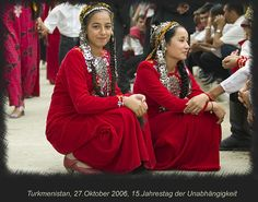 Turkmenistan, photo taken at the 15th Independance Anniversary celebrations | © Manfred Vaeth