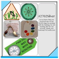 #2702Silver help us to keep the tradition of SWAPs alive in Girl Scouting