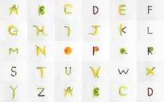 Fruity Alphabet by Katherine Sangmyeong Lee
