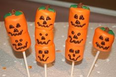 Pumpkin marshmallows!