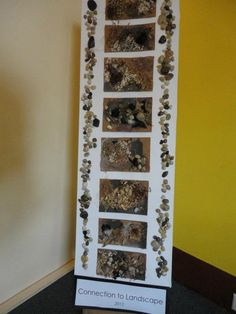 "Love this natural textured collage from New Horizons Preschool ("",)"