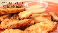 Six Sisters Oven Fried Chicken Recipe with the frying!  So great baked in the oven!