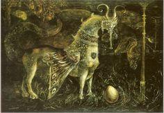 Leonora-Carrington artists, challenges, animals, eggs, max ernst, homes, white face, leonoracarrington, leonora carrington