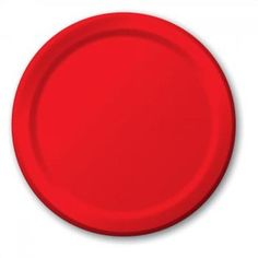 Red Paper Plates