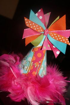 Presley's party hat!