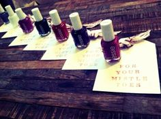 Christmas Essie Gift Idea - For their mistle toes!