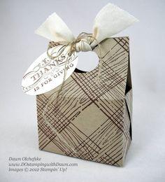Mini Treat Tote Box ~ Dawn Olchefske