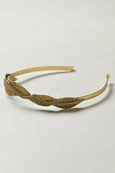 Wrapped Leaf headband