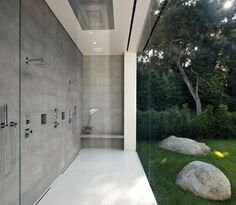 perfect outdoor shower to rinse off from beach