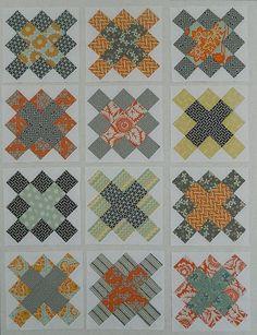 granny square quilt block