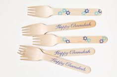 chanukkah celebr, 20 wooden, holiday winter, grunberg hanukkah, happi chanukah