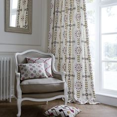 curtains...chair...pillows...all of it...