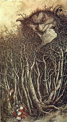 """From """"The Land of Froud"""" by Brian Froud"""