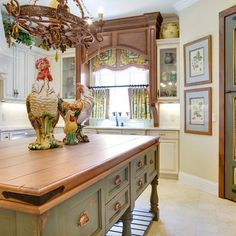 Beautiful French Country Kitchen!