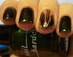 So this is how you do feathered nails.