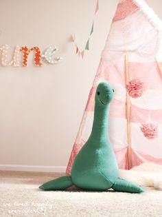 DIY Nessie Pattern and Tutorial